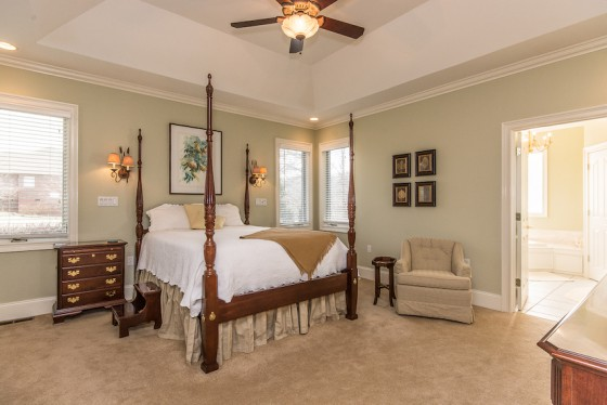 Family Home Master Bedroom
