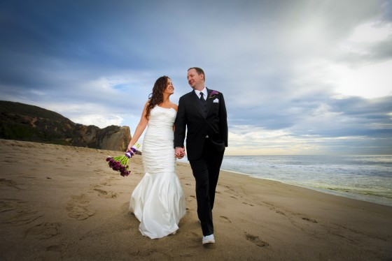 Sarah and Marc were married in Malibu, CA.