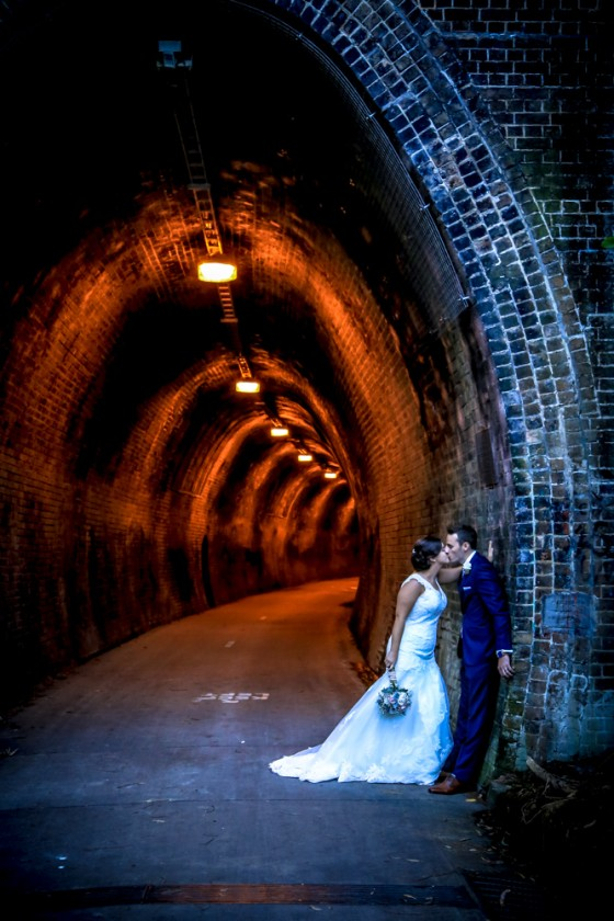 Joe and Kate at Fernleigh Tunnel