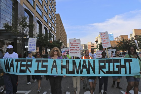 Water is a Human Right Detroit, Michigan