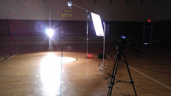 basketball shoot in D.C.