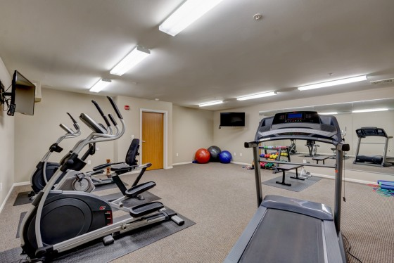 Apartment Exercise Room
