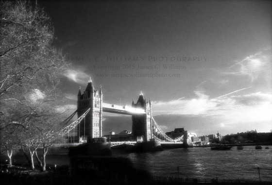 Tower Bridge Infrared Film, 2006