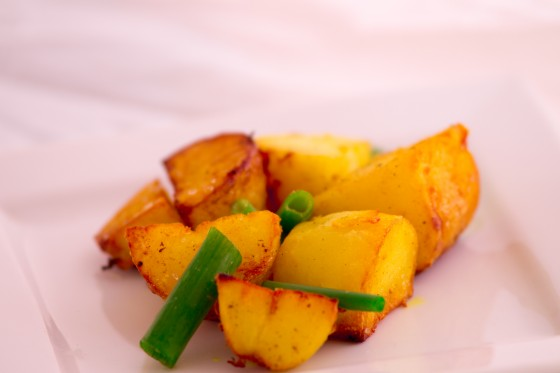 Stir fried Potatoes