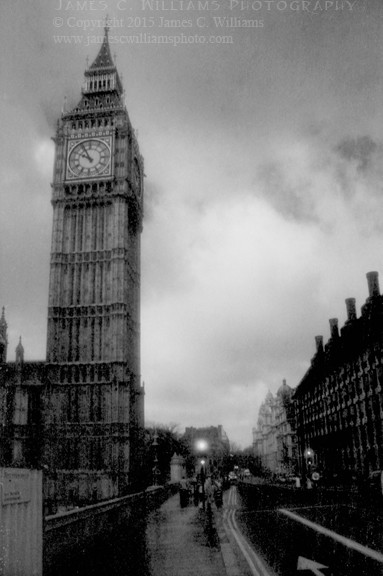 Street View of Big Ben Infrared Film, 2006