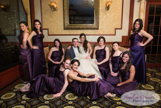 New York Wedding Bridal Party Photo ideas