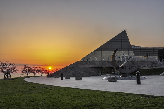 Adler Planetarium Sunrise, Chicago, Illinois