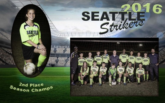 Youth Soccer Team photos 2016