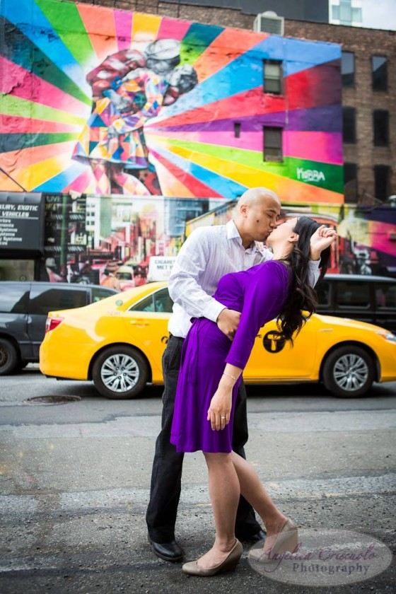 New York City Engagement Photos in Chelsea