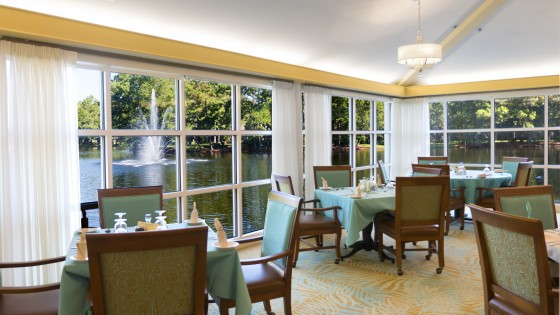 Lake View Dining Room