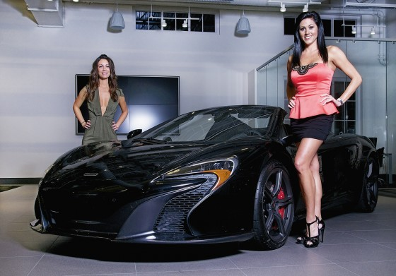 Modeling the debut of the McLaren 650S
