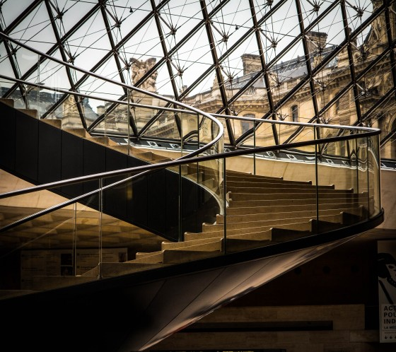 Staircase at the Louvre