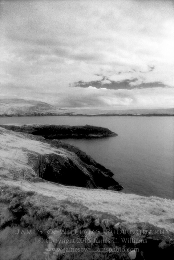 Dursey Cliffs Dursey Island, Ireland Infrared Film, 2009