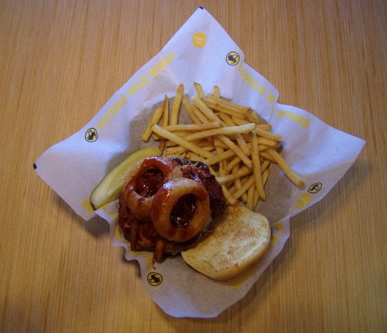 Buffalo Wild Wings - Big Jack Daddy burger for marketing, training and social media