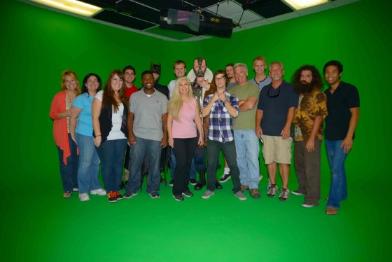 Cast and crew from an HP spot