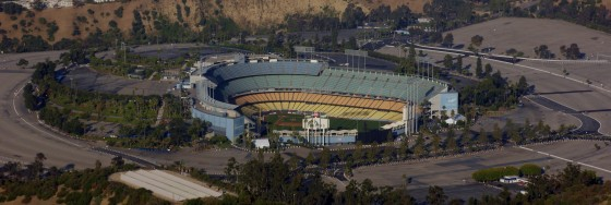 Dodgers Stadium - wide