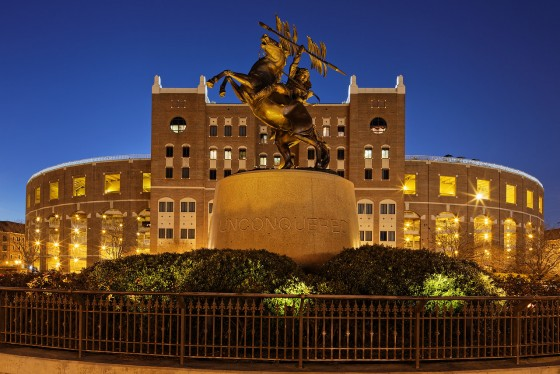Unconquered Statue and Doak Campbell Stadium, Florida State University