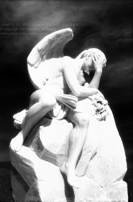 Male Angel San Juan, Puerto RIco Infrared Film, 2011