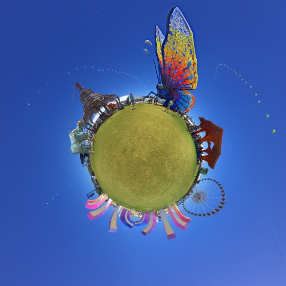 Coachella tiny planet