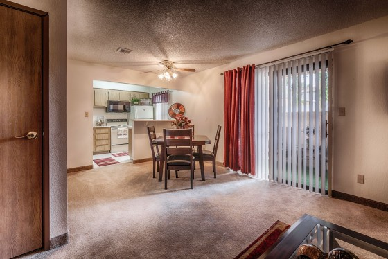 Real Estate Apartment Photography - Dining Area