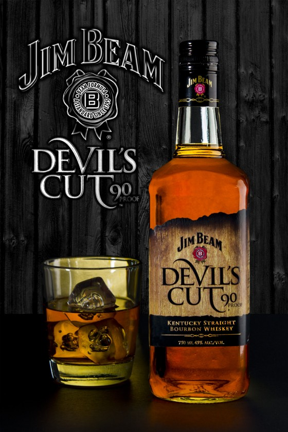 Magazine Ad for Jim Beam - Devils Cut