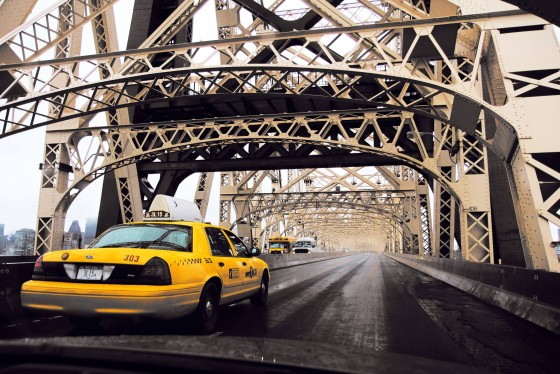 queensboro bridge cab driver areial photographyjwarstyle