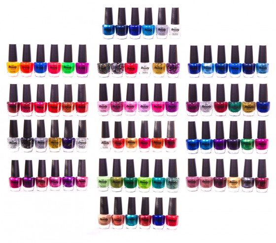 nail polish product photography jwarstyle