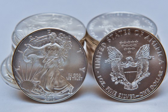 Silver Coin photo for online coin retailer