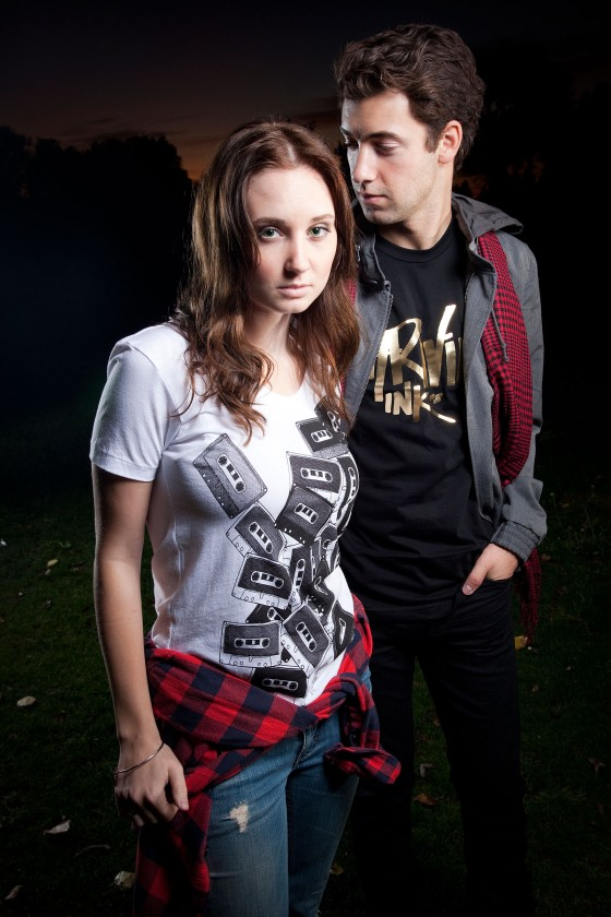 Fashion shoot for Thriving Ink Clothing
