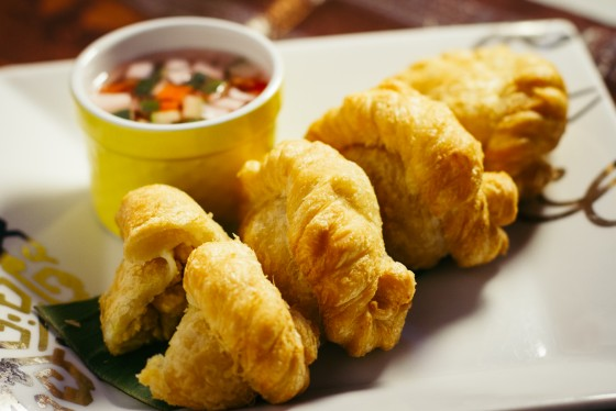 Delicious Fried Curry Puffs