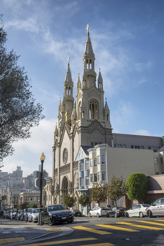 Saints Peter and Paul Church, San Francisco, California