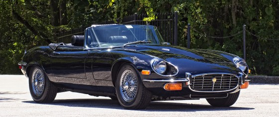 Classic Jaguar E-Type going to RM Auctions.