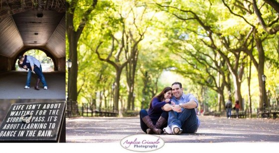 Central Park Engagement photography ideas