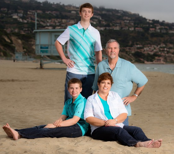Environmental Family Portrait Photography
