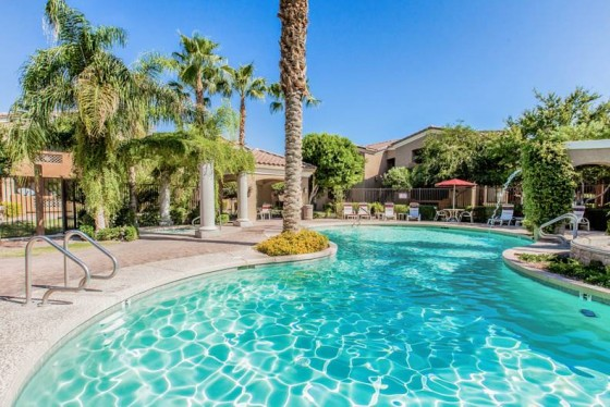 Real Estate Apartment Photography - Pool