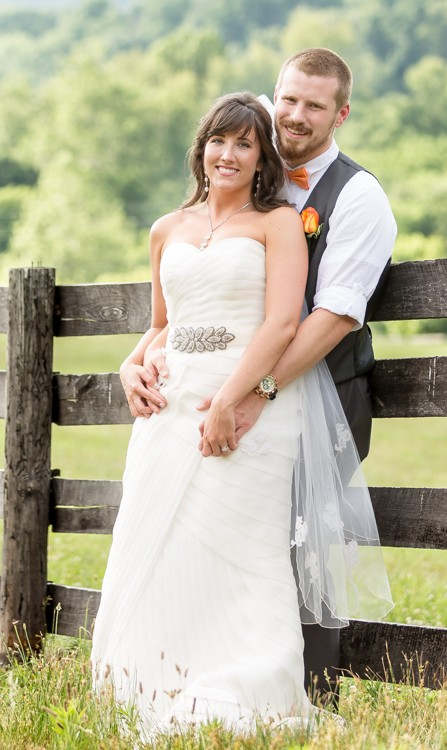 Romantic Asheville Wedding
