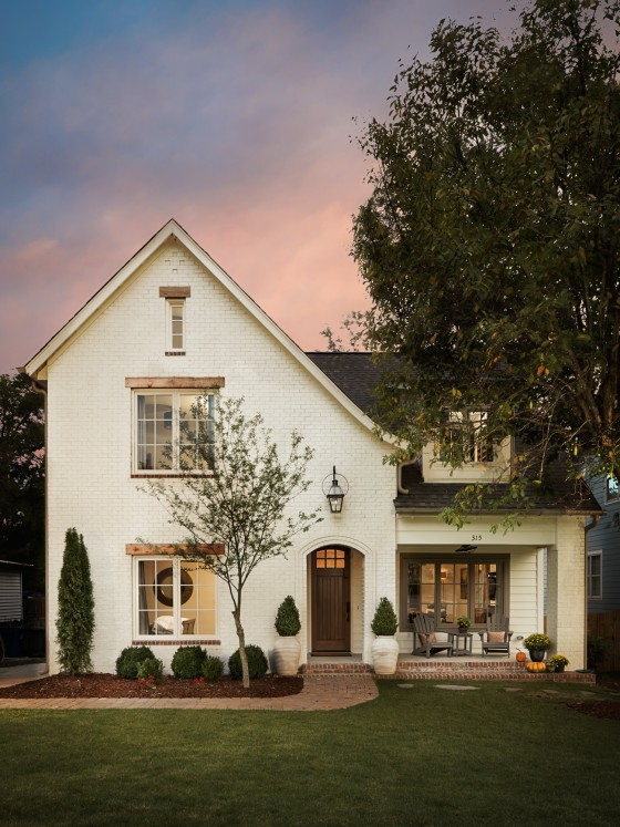 ... AL Willow Homes Residential Twilight Exterior Architectural Photography  Homewood, ...