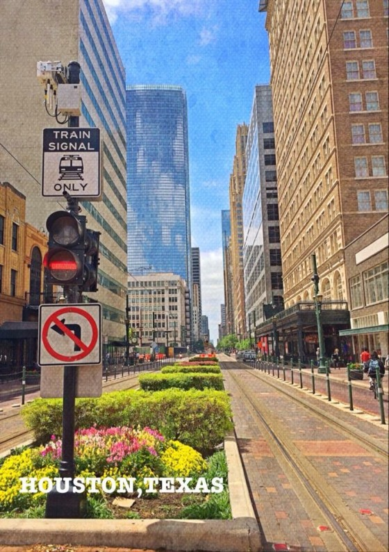 City-scape - Houston