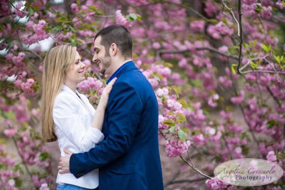 Central Park engagement photos