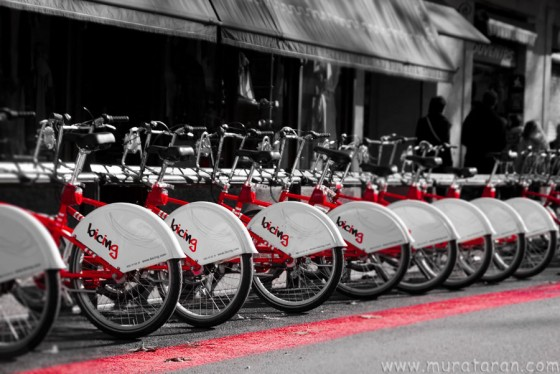 Red Bicycles, Barcelona