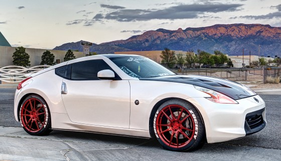 Nissan 370z customized in Albuquerque, New Mexico