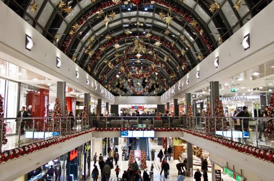A Mall in Munich, Germany