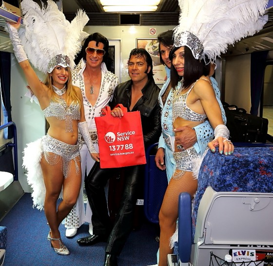 Photo 2 by Gary Blackman for Central Station the Elvis Weekend Train