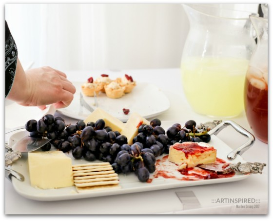 Summer Fruit and Cheese Plate