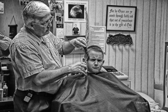 Boy and the Barber - Karen Geswein