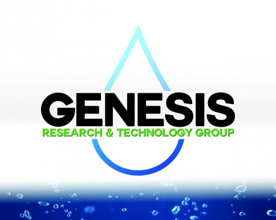 Genesis Research Logo Design