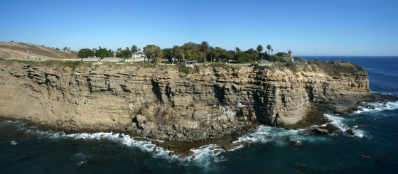 Cliffs @ Point Fermin Park, San Pedro, CA
