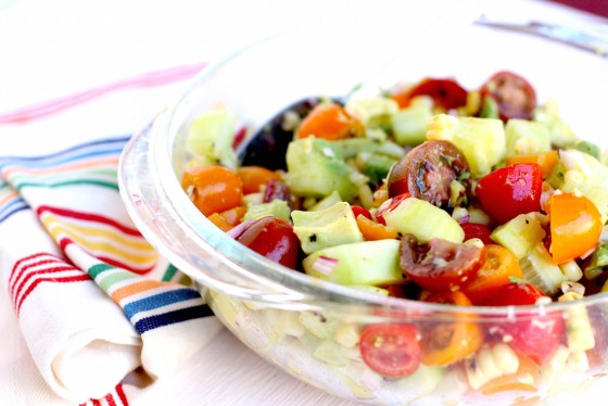 Fresh summer salad recipe.