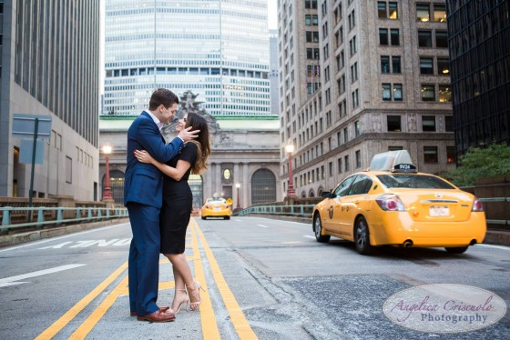 Grand Central Engagement Photographer